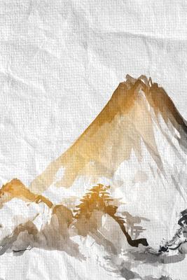 Sumi-e Mountain 2 Notebook