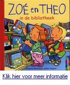Zoé en Theo in de bibliotheek