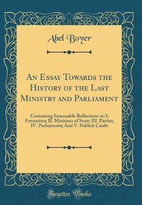 An Essay Towards the...