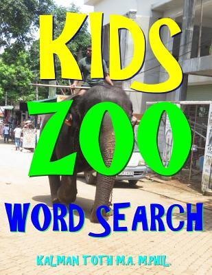 Kids Zoo Word Search