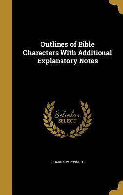 OUTLINES OF BIBLE CHARACTERS W