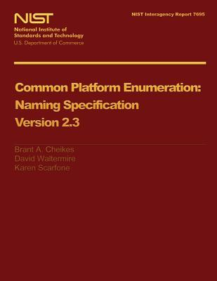 Common Platform Enumeration Naming Specification Version 2.3