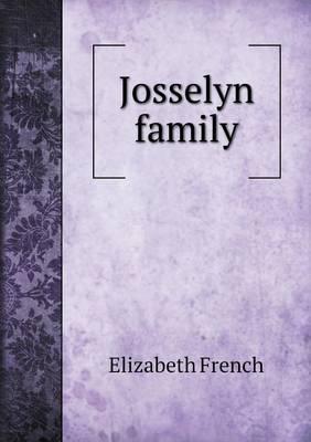Josselyn Family
