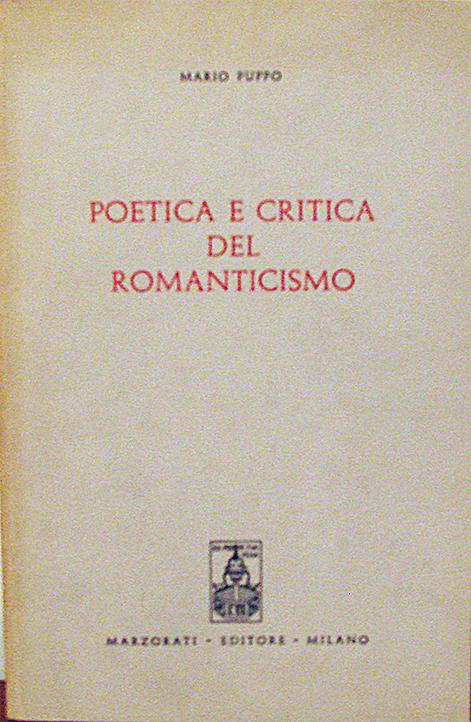 Poetica e critica del Romanticismo italiano