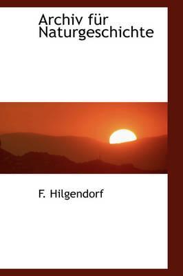 Archiv F R Naturgeschichte