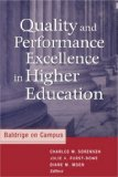 Quality and Performance Excellence in Higher Education