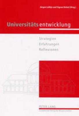 Universitatsentwicklung