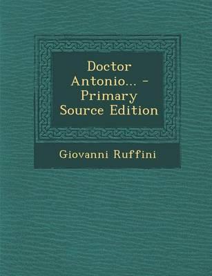 Doctor Antonio... - ...