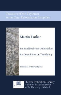 Ein Sendbrief vom Dolmetschen - An Open Letter on Translating