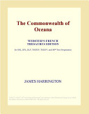 The Commonwealth of Oceana (Webster's French Thesaurus Edition)