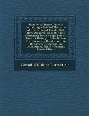 History of Seneca County