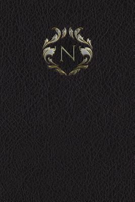 """Monogram """"N"""" Meeting Notebook"""