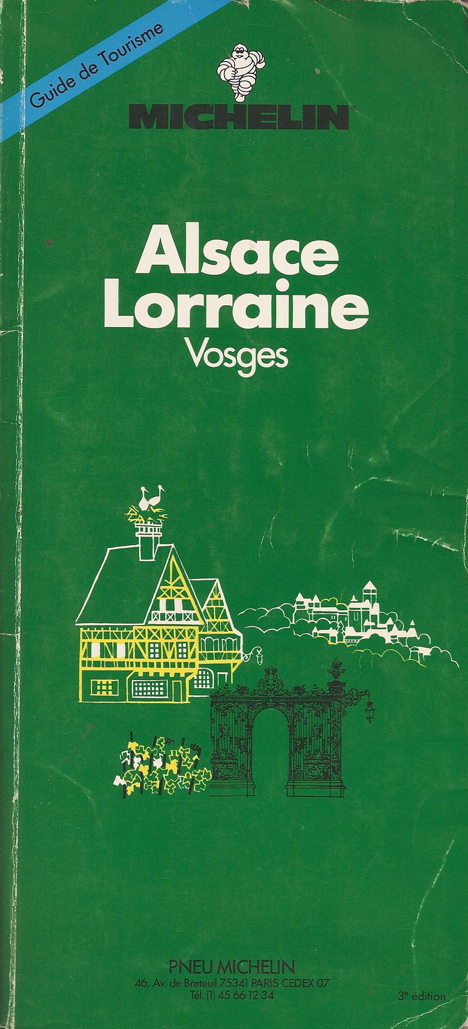 Alsace Lorraine, Vosges