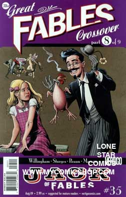 Jack of Fables n. 35