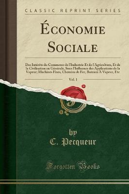 Économie Sociale, Vol. 1