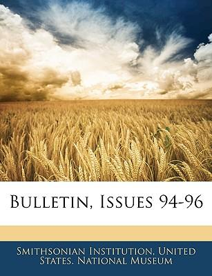 Bulletin, Issues 94-96