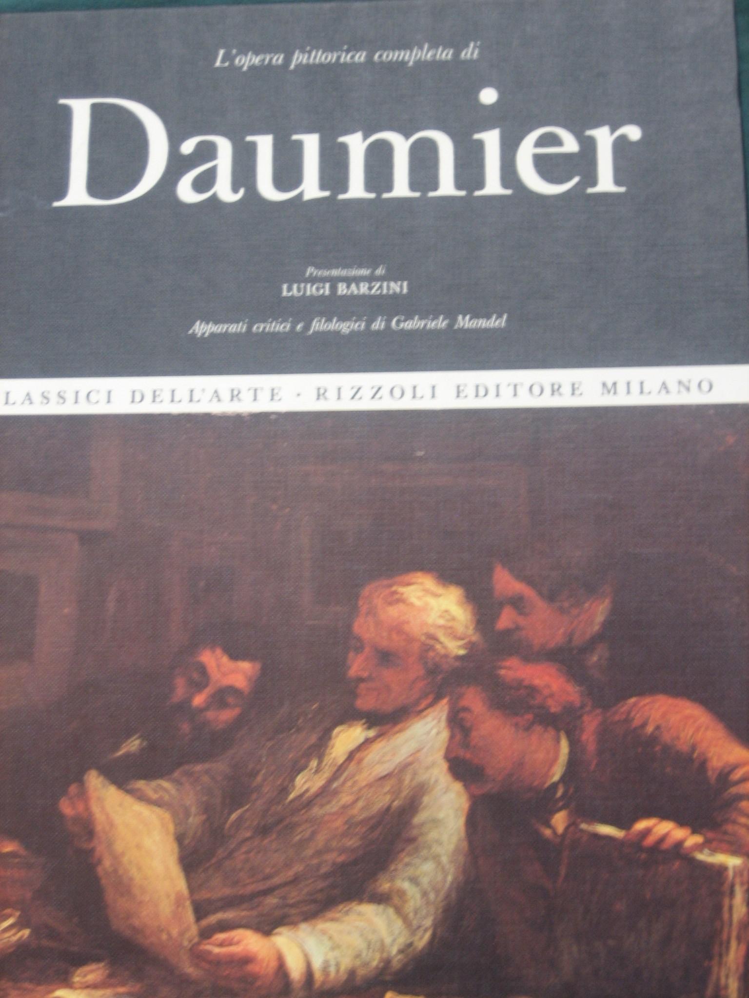 L'opera pittorica completa di Daumier
