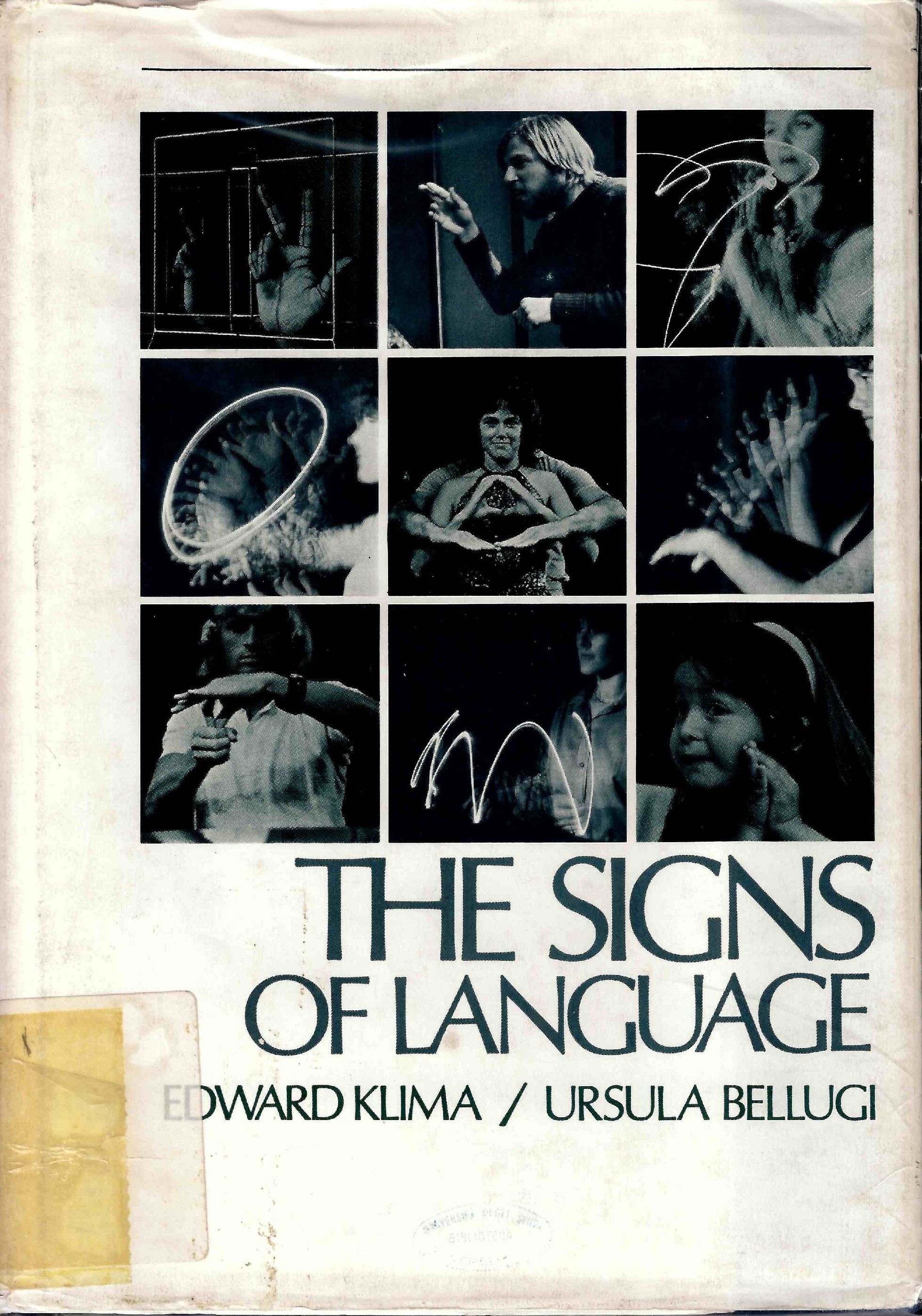 The signs of language