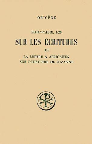 Philocalie, 1-20: su...