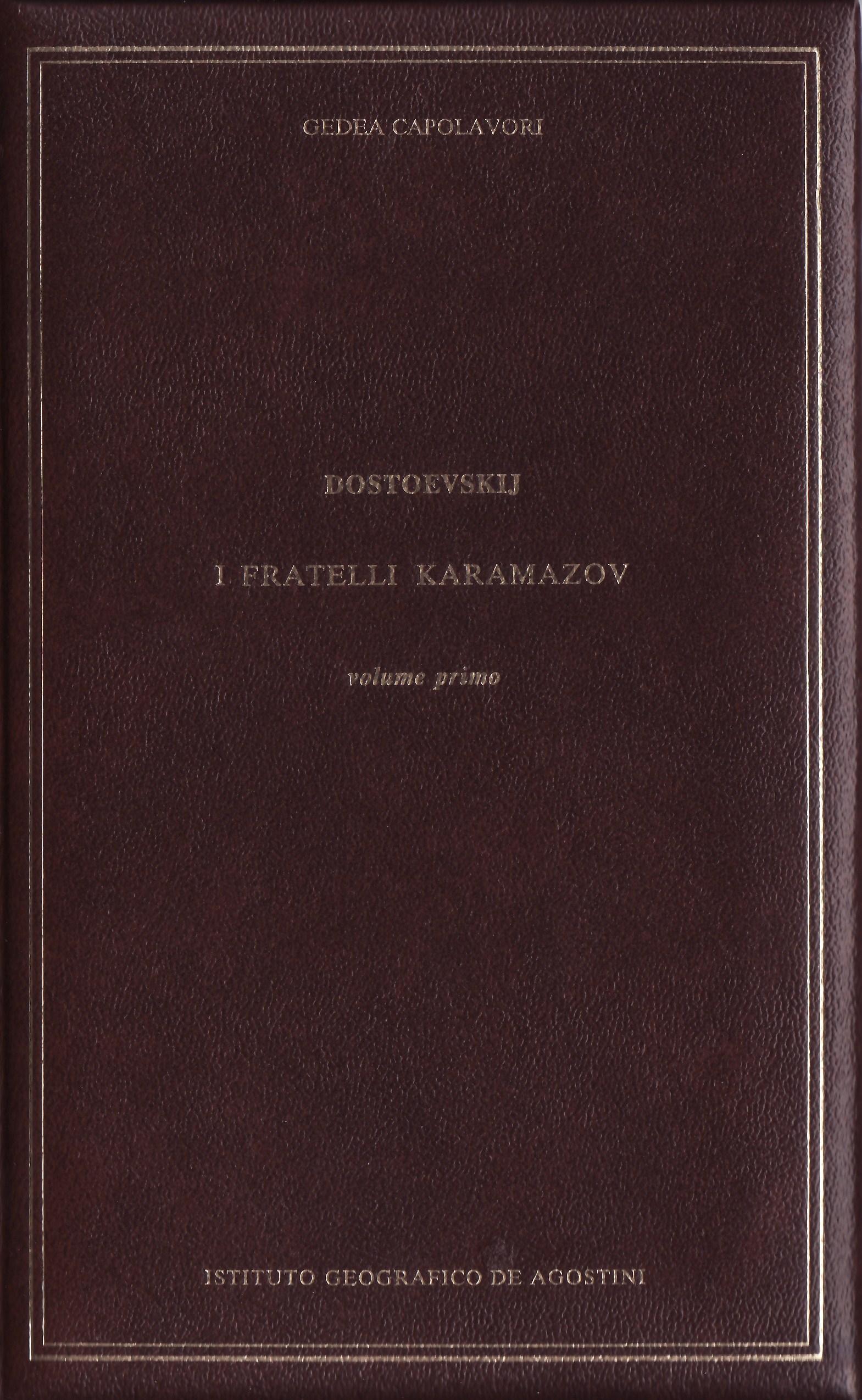 I fratelli Karamazov - vol.I