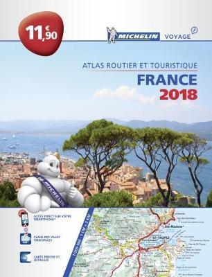 Atlas routier France Michelin 2018