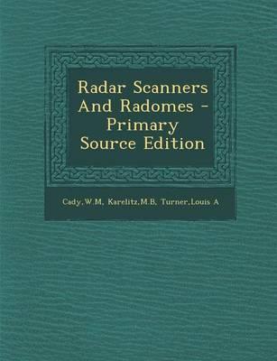 Radar Scanners and R...