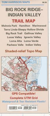 Big Rock Ridge-Indian Valley Trail Map