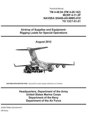 Technical Manual Tm 4-48.04 Fm 4-20.142 Mcrp 4-11.3p Navsea Ss400-ad-mmo-010 to 13c7-51-21 - Airdrop of Supplies and Equipment