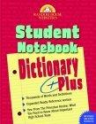 Random House Webster's Student Notebook Dictionary Plus