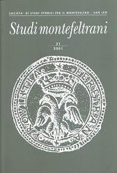 Studi Montefeltrani, 21 (2001)
