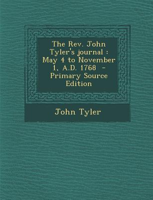 REV. John Tyler's Jo...
