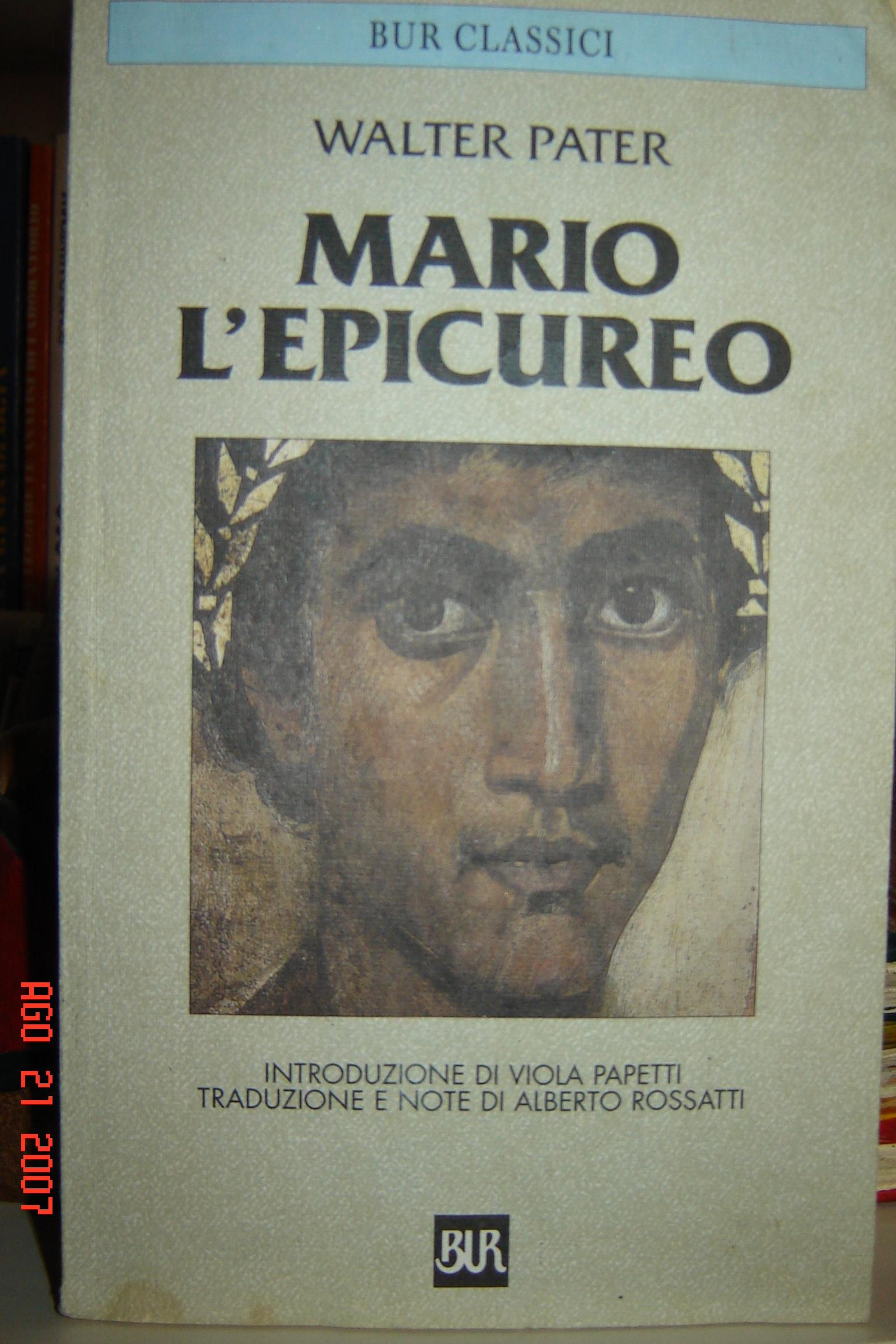 Mario l'epicureo