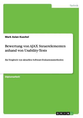 Bewertung von AJAX Steuerelementen anhand von Usability-Tests