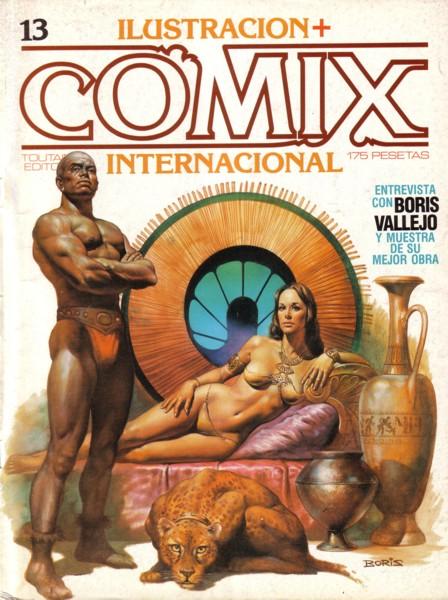 Ilustración + Comix Internacional #13