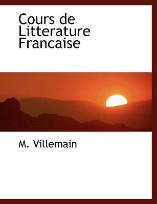 Cours De Litterature...