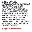Design interviews. Alessandro Mendini