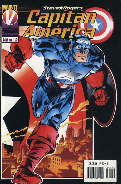 Capitán América Vol.3 #2 (de 11)