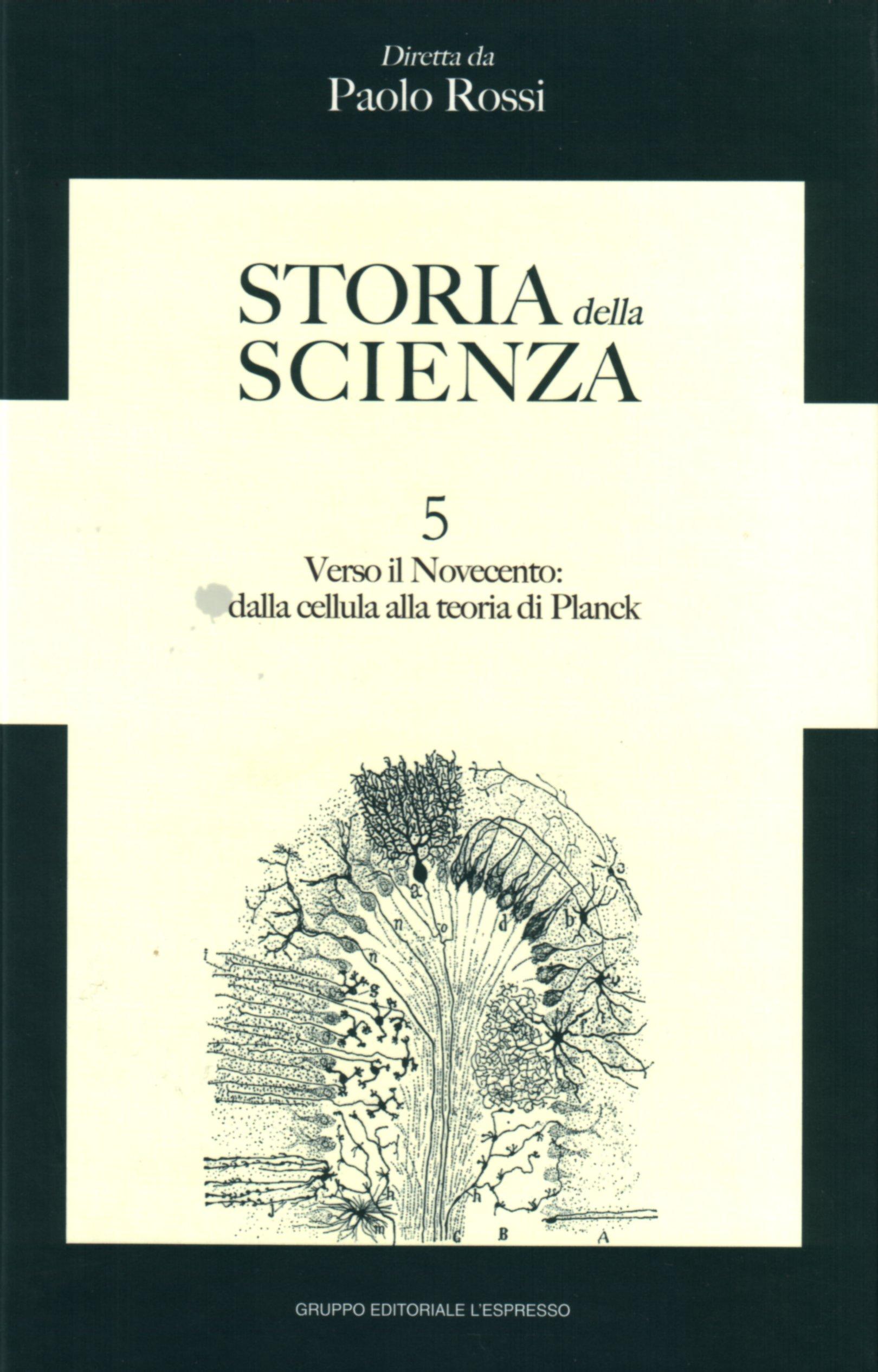 Storia della scienza vol. 5