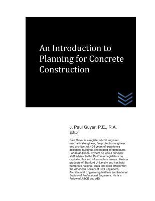 An Introduction to Planning for Concrete Construction