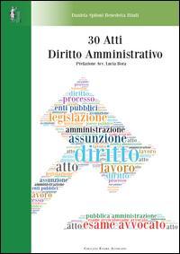 30 atti di diritto amministrativo