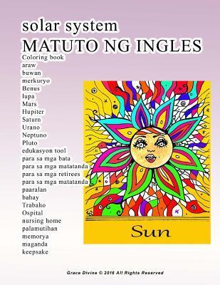 Solar System Matuto Ng Ingles Coloring Book