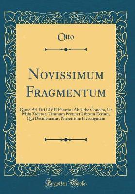 Novissimum Fragmentum