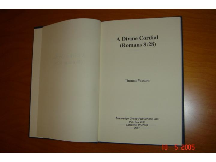 A Divine Cordial - R...