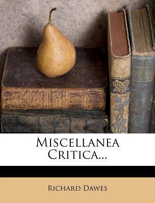 Miscellanea Critica.