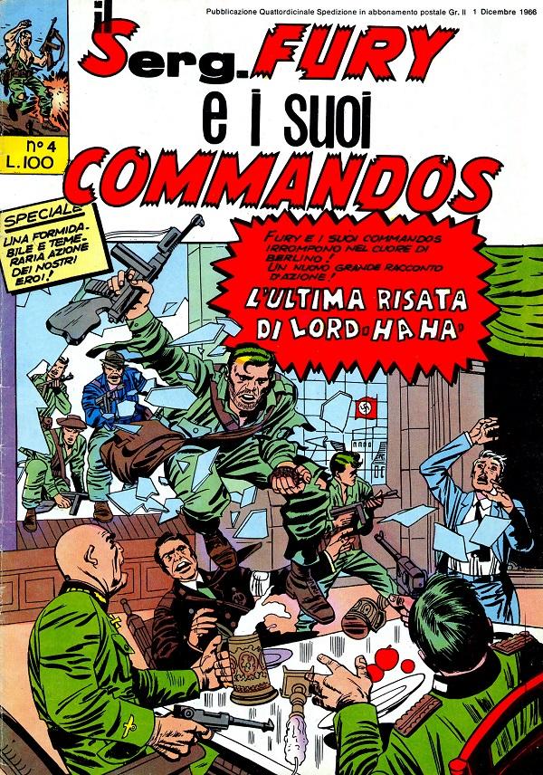 Il serg. Fury e i suoi commandos n. 4