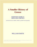 A Smaller History of Greece (Webster's Korean Thesaurus Edition)