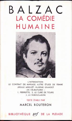 La Comédie humaine, Tome III