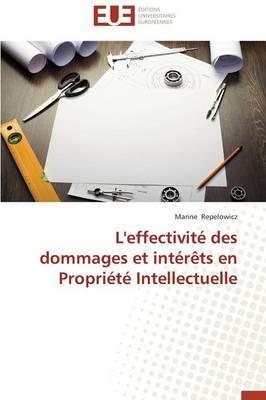 L'Effectivite des Dommages et Interets en Propriété Intellectuelle