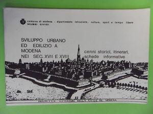 Sviluppo urbano ed edilizio a Modena nei secoli XVII e XVIII