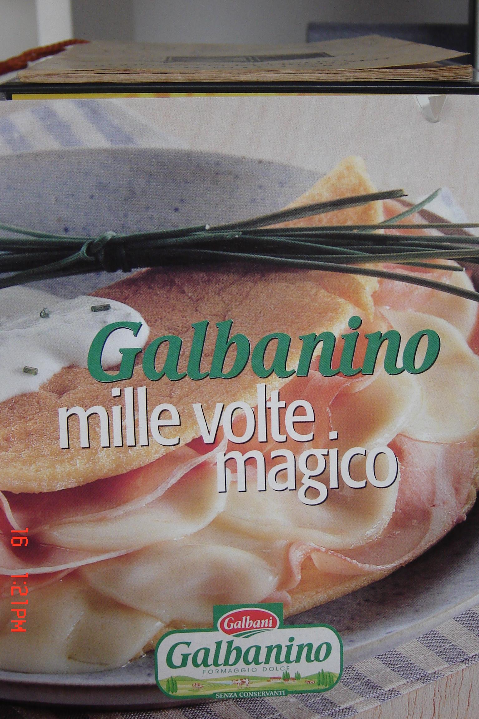 Galbanino mille volt...